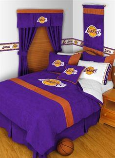 lakers bedroom set