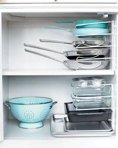Грамотное хранение посуды в шкафах
