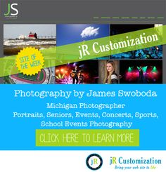 #SmugMug site of the week - Photography by James Swoboda #Michigan #photography - click here to learn more...