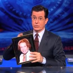 Stephen Colbert Loves the Thing He Most Wishes Had Not Happened