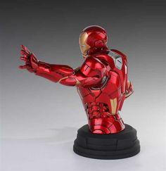 Imagen mini busto  Iron Man Avengers Deluxe - 03