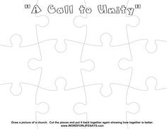 U Is For Unity In Christ Bible Coloring Pages