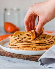 3-ingredient Lentil Tortillas | Veggie Jam English