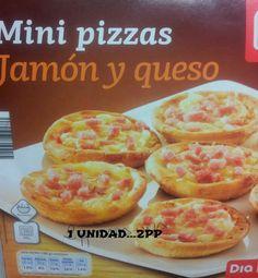 LAS DELICIAS DE CANDELA Mini Pizzas, Lidl, Hamburger, Weight Loss, Bread, Weights, Food, Shopping, Food Items