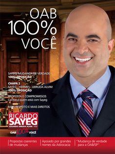 #oabsp #oab #advogado #advogada #votoricardosayeg #ricardosayeg