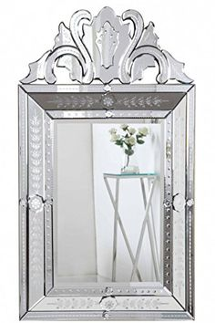 Elegant Venetian Mirror in Clear Finish Elegant Lighting & Furniture http://www.amazon.com/dp/B00MD0HT68/ref=cm_sw_r_pi_dp_9oN3ub0T1B0C8