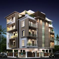 Styt Gambar Apartemen Lensa Rumah Pinterest Building Elevation