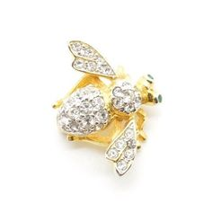 Joan Rivers Classics Collection JOAN'S ORIGINAL BEE PIN BROOCH Gold Tone | Jewelry & Watches, Vintage & Antique Jewelry, Costume | eBay!