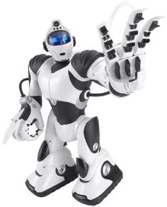 Wowwee Robosapien Full Function Humanoid Robot With Remote Control New Technology Gadgets, Tech Gadgets, Educational Robots, Wow Wee, Humanoid Robot, Color Vision, Top Christmas Gifts, Robots For Kids, Model Hobbies