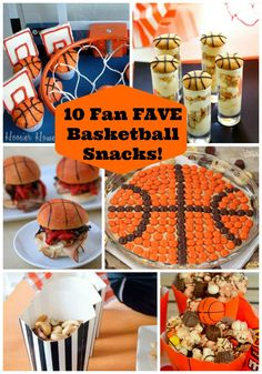 From Sliders To Pizza Dip, Cupcakes & Cookies, Get Ready For Some Eye Candy Because These March Madness Snacks Are A Basketball Party Slam Dunk! Bunco Party, Party Snacks, Basketball Party, Sports Party, Team Dinner, Team Gifts, March Madness, Cupcake Cookies, Holiday Recipes