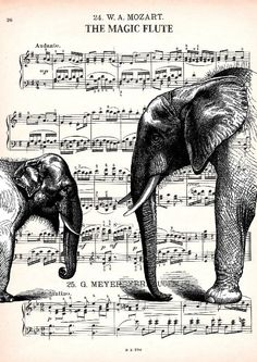 MUSIC RETRO 70, original ARTWORK, mixed media, art print. $17,00, via Etsy.