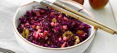 Delhaize - Salade van rodekool met appels en noten