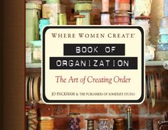 Where women create: book of organisation - Jo Packham