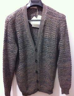 NWT$579 Roberto Collina Italy Sartorial luxury Gorgeous Cardigan, 54/44US,XL~L #RobertoCollina #sartorialluxurycottonartisanalCardigan