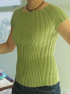 Katrina Rib, by Cookie A. I just started making it. I love Cookie's patterns. My first sweater by her, I've knit 5 pairs of socks (or more) she's designed.