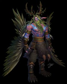 Malfurion Stormrage, Shan'do, First of the Druids, the Archdruid, Lord of the Night Elves