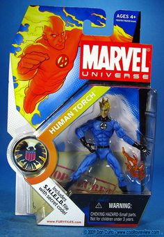 Human Torch - Series I #011  The Fantastic Four