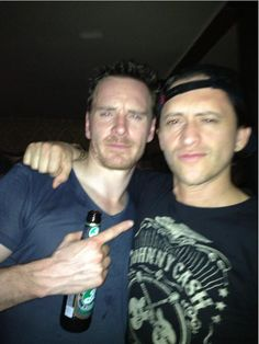 Michael Fassbender and Clifton Collins jr. Clifton Collins Jr, Ryan Gosling, Michael Fassbender, Best Actor, Tom Hiddleston, My Man, Acting, Crushes, Beautiful Women