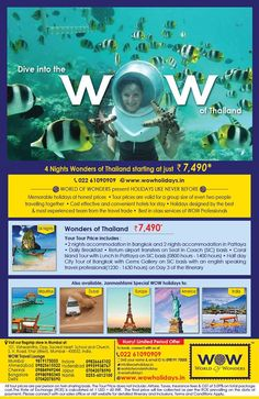 Wonders of Thailand Media Campaign, New Zealand, Thailand, How To Memorize Things, Europe, Australia, Tours, World, Travel
