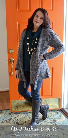 My Fashion Over 40  www.thestonybrookhouse.com #fashion #fashionover40 #ootd #whatiwore