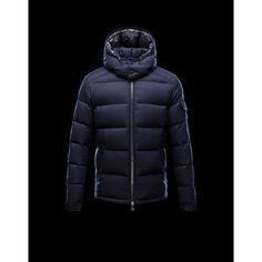 Men Moncler Herre 2016 Moncler Montgenevre Winter Jackets Blue