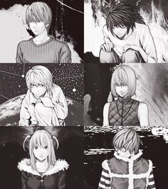 Light, L, Mello, Near, Misa, and Matt        _Death Note