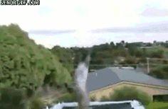 14 Totally Crazy Trampoline Gifs