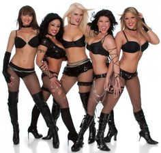 I love the Flaunt Girls from Full Throttle Saloon