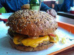 """See 580 photos and 174 tips from 3736 visitors to Magic Burger Bar. """"A Philly Cheese Steak szendvics király, a kéksajtos hamburger náluk a legjobb a. Burger Bar, Hungary, Budapest, Hamburger, Steak, Magic, Ethnic Recipes, Places, Food"""