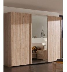 Armoire coulissante on pinterest armoire placard sur mesure and melamine - Armoire coulissante blanche ...