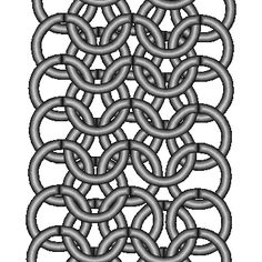 Techniques: European 4-in-1 Chain Maille