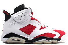 Pre Order 384664-160 Air Jordan 6 Carmine  White/Carmine-Black Online http://www.newjordanstores.com/