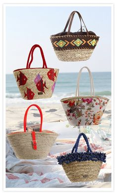 9 consejos para pasar a la hora de verano...  Me regalo el capazo de mis sueños para ir a la playa   Lo más difícil será quedarse con uno sólo, pero por cierto… ¿es preciso? Beach Basket, Crochet Shoulder Bags, Bow Bag, Diy Tote Bag, Bags 2017, Basket Bag, Summer Bags, Casual Bags, Clutch Bag