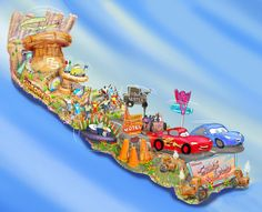 We'll be looking for this on TV New Year's Day! Disneyland Resort to Feature Cars Land-Inspired Float in the 124th Rose Parade