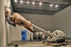 Bull Fart Sculpture by Chen Wenling 25 Of The Most Creative Sculptures And Statues From Around The World