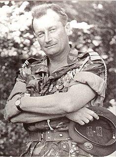"""Lieutenant-Colonel Jeanpierre, indicatif """"Soleil"""", commandant du 1er REP."""