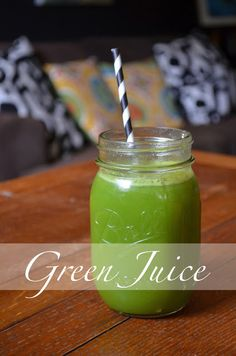 Smaller Sarah - green juice fast
