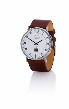 "Herren-Funk-Armbanduhr, Master Time ""Advanced"" Shops, Bar, Leather, Design, Products, Deco, Artificial Leather, Get Tan, Wrist Watches"