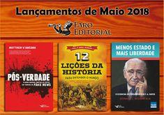 Saleta de Leitura: Lançamentos de Maio da Faro Editorial