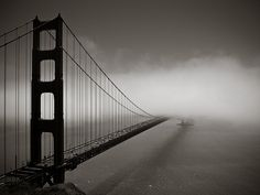 Golden Gate, California, by Chester Bullock - The favorite spot of mine!