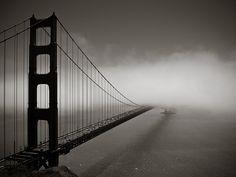 Golden Gate, California, by Chester Bullock - The favorite spot of mine!