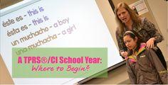 List of language teacher blogs that discuss beginning of school year activities - especially good for TPRS & CI teachers - via Martina Bex & The Comprehensible Classroom