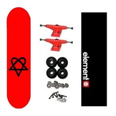Bam Heartagram Pro HIM Skateboard Complete w/ Element Grip by Heartagram. $52.98. Brand New, Top Quality Heartagram Skateboard Complete