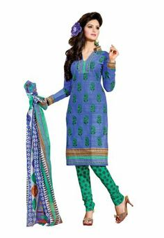 Fabdeal Indian Designer Pure Cotton Blue & Sea Green Printed Salwar Fabdeal Inc, http://www.amazon.fr/dp/B00IRBA626/ref=cm_sw_r_pi_dp_qOuotb1WVTR1M