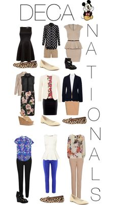 """DECA NATIONALS OUTFITS"" by lucybonomo on Polyvore @Andrea / FICTILIS / FICTILIS / FICTILIS / FICTILIS Pahim Inc."