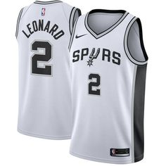 26462a68b2f Kawhi Leonard San Antonio Spurs Nike Swingman Jersey White - Capture your  team s distinct identity in