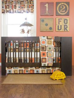 nursery decoration ideas...love the colors for a boy's room