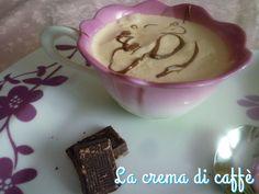 La crema di caffè!