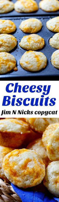 Love these mini Jim N NIcks Cheesy Biscuits!
