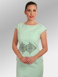 Vestido Zeyla #moda #lino #SS2014 www.abito.com.mx